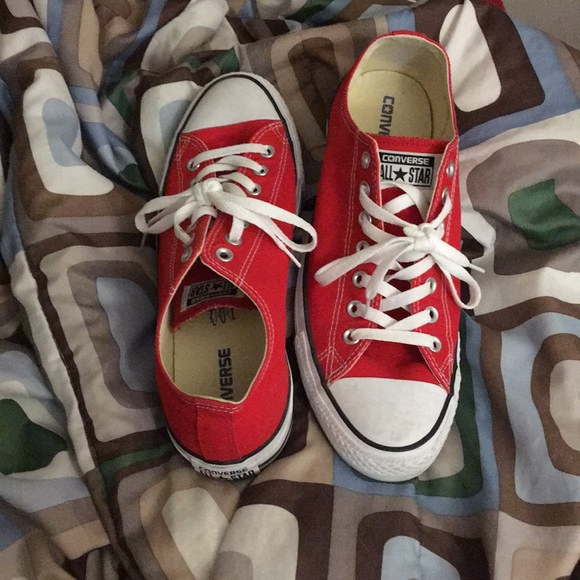 Converse Shoes   Red Size 10 Mens And